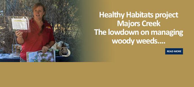 Healthy Habitats – Majors Creek