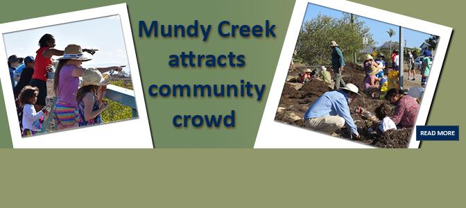 Mundy Creek attracts community crowd