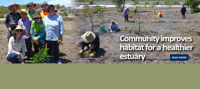 Community improves habitat