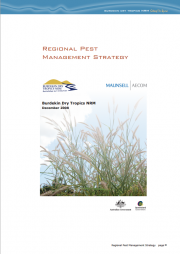 Regional Pest Management Strategy 2008