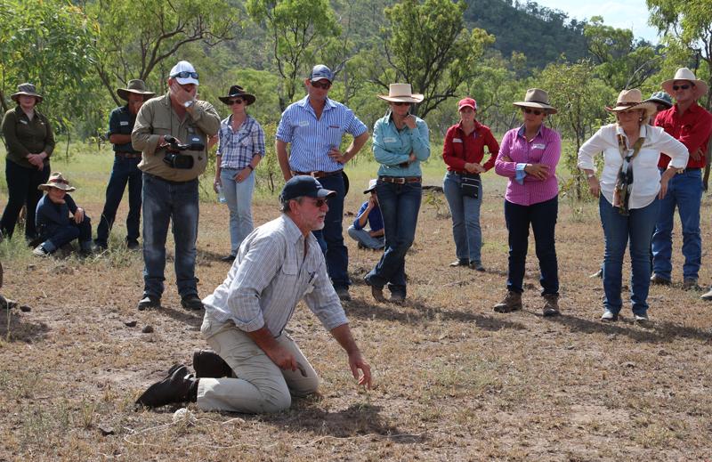 Holistic management trainer Brian Wehlburg discusses pasture