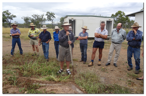 Renowned agricultural pioneer Peter Andrews discusses landscape function at the NQ Dry Tropics Field Day