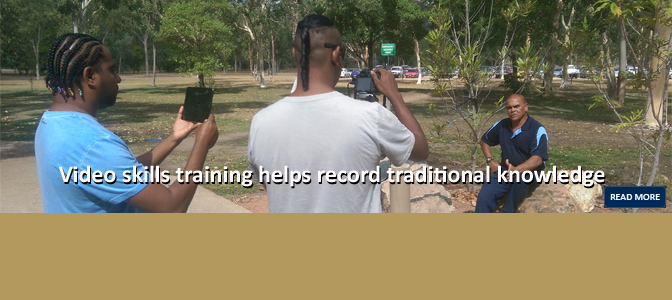 Recording traditional knowledge