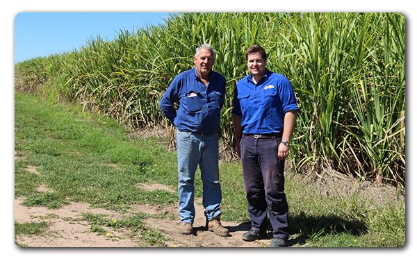 Mark Castelanelli and NQ Dry Tropics Project Officer Luke Malan.