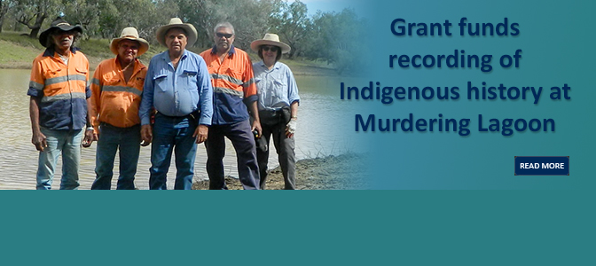 Grant funds recording of Indigenous history