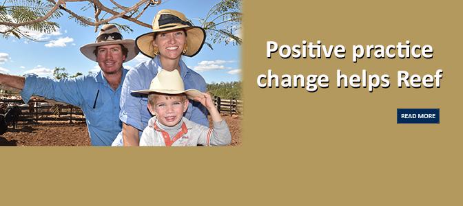 Positive practice change helps Reef