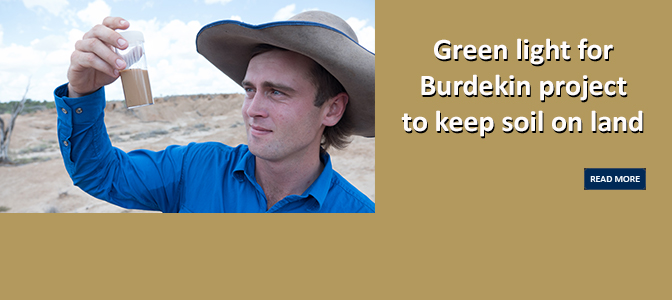 Green light for Burdekin project to keep soil on land