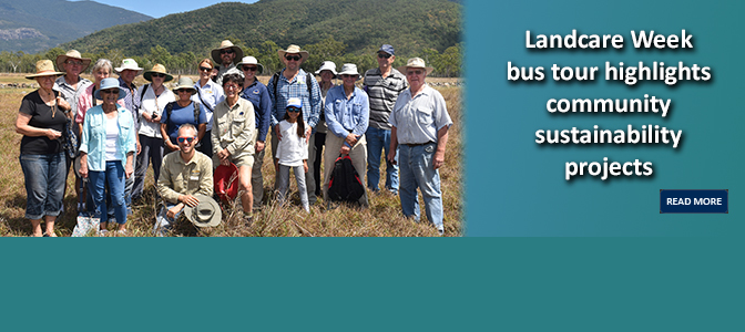 Landcare Week bus tour highlights community sustainability projects