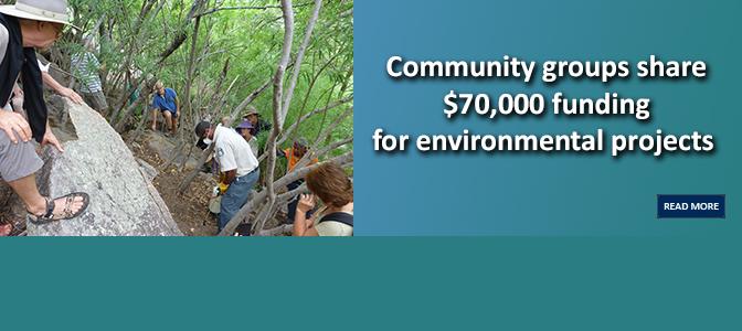 Community groups share $70,000