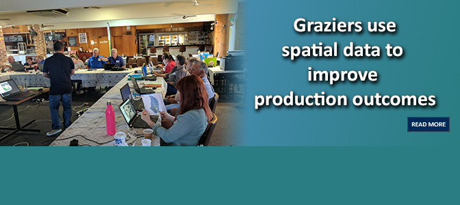Graziers use spatial data to improve production outcomes