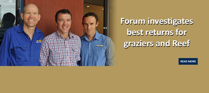 Forum investigates best returns for graziers and Reef