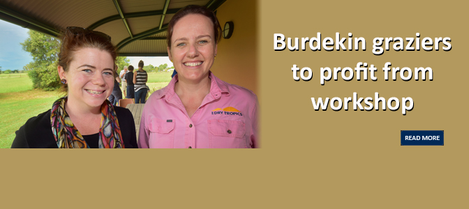 Burdekin graziers to profit from workshop