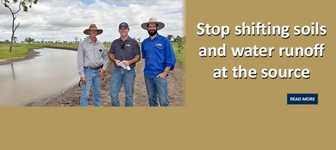 Stop shifting soils and water runoff at the source