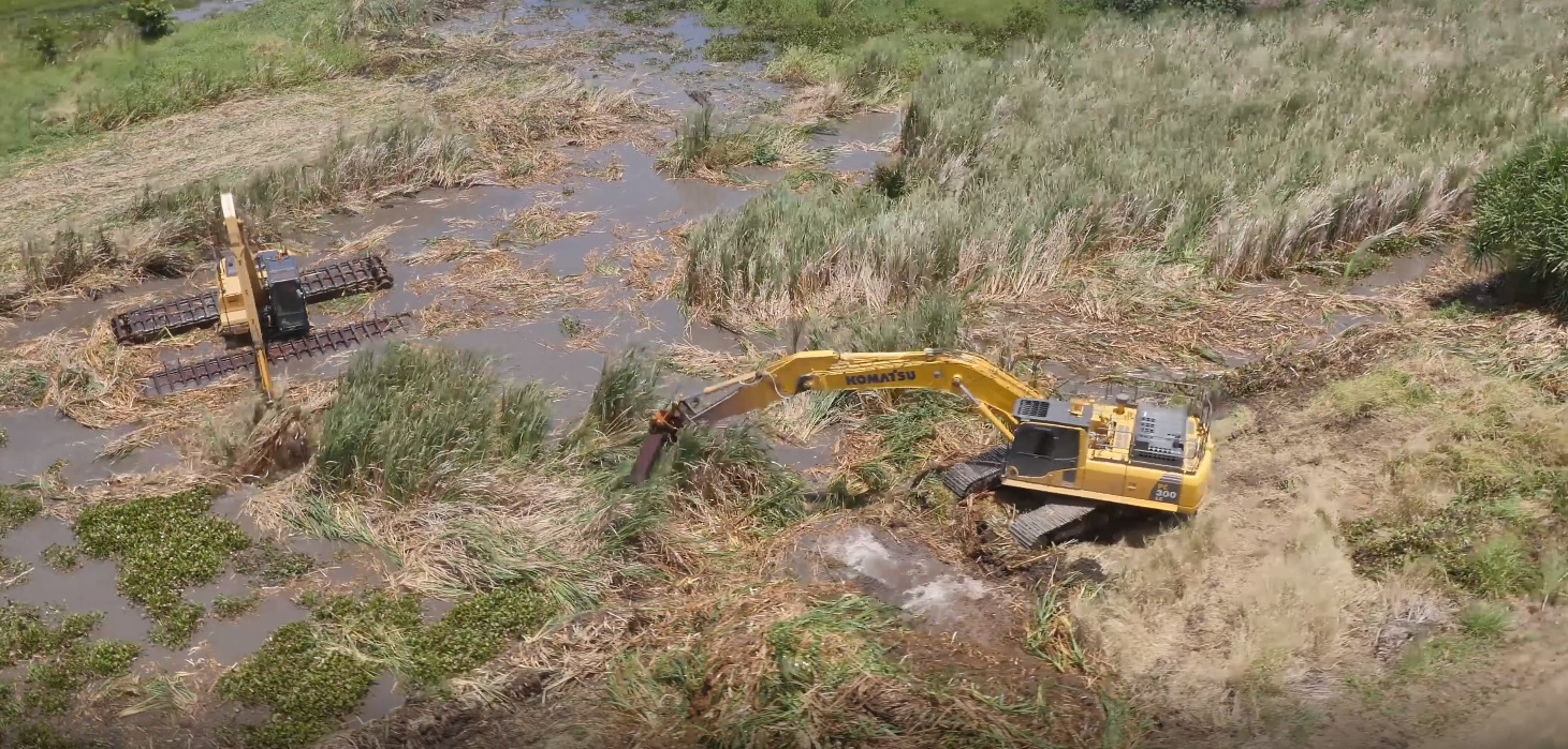 Evolution Mining Wetland Weed Control Project