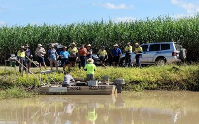 Farmers and scientists learn from each other at Horseshoe Lagoon