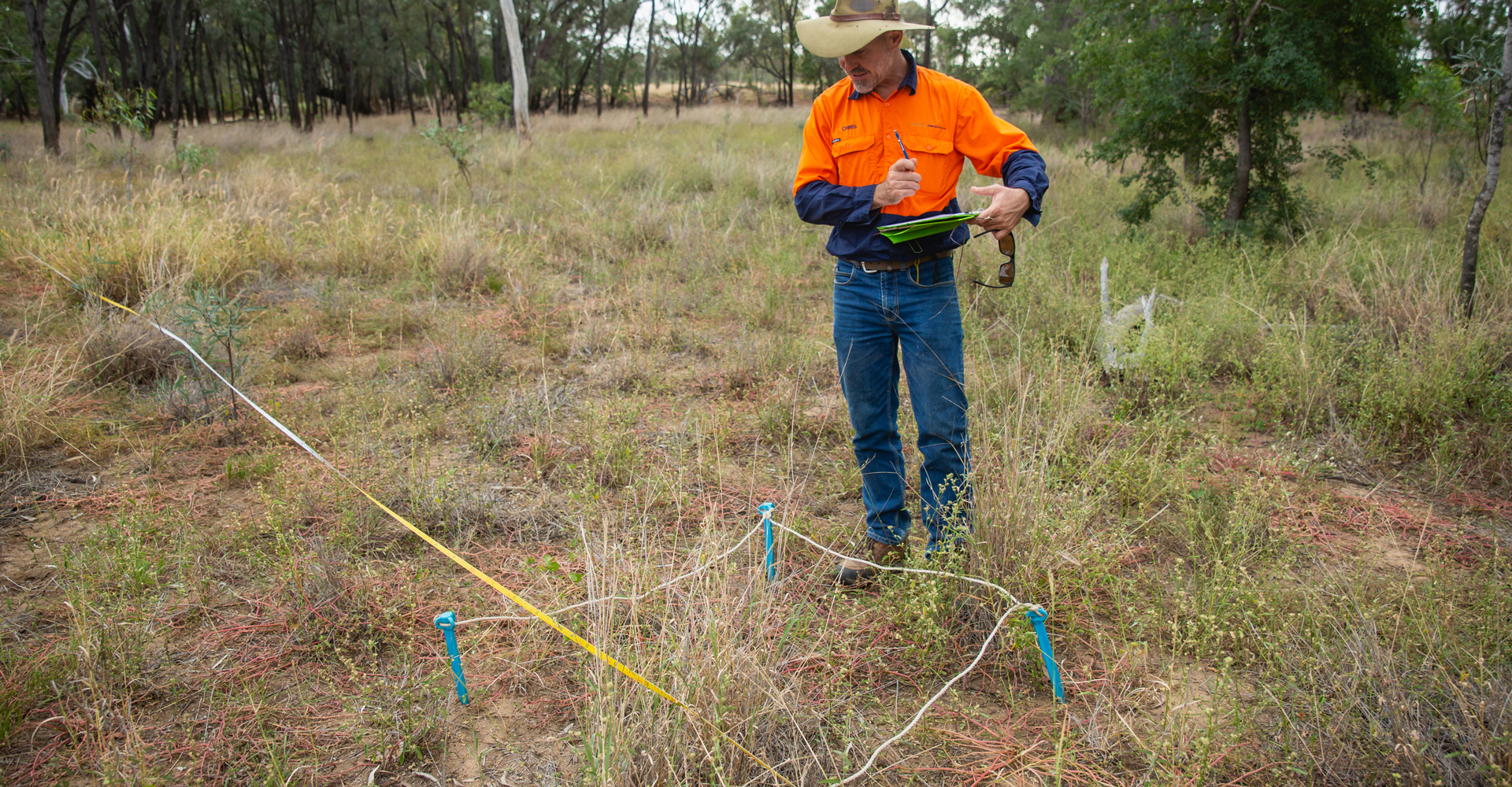 Chris Kahler Conserving Brigalow Project