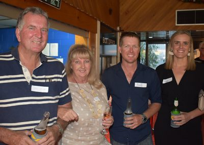 Clare sugar cane growers (from left) Don, Sue, Heath and Fiona Salter.
