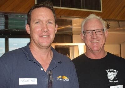 NQ Dry Tropics Senior Project Officer Scott Fry (left) and Gary Spotswood.