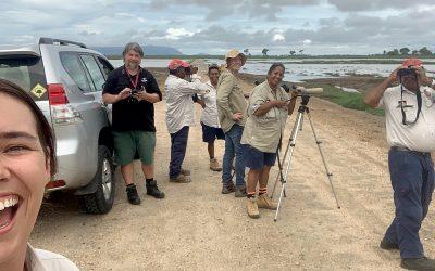 Workshop helps Gudjuda Rangers improve bird ID and monitoring skills