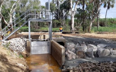 New automated gates and fishways to improve efficiency & fish connectivity