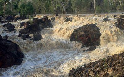 Basalt wall erosion threatens highway